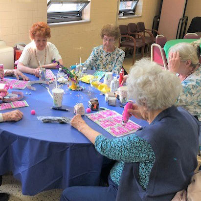senior center activities